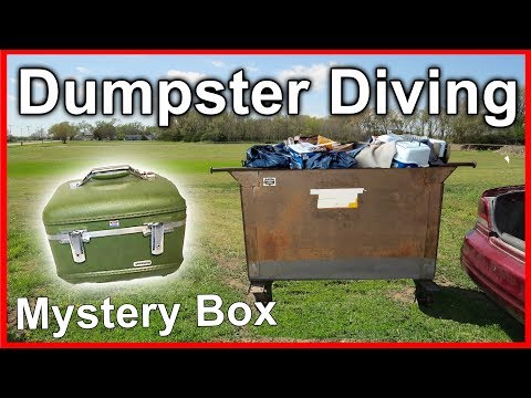 Found Mystery Box Dumpster Diving #278