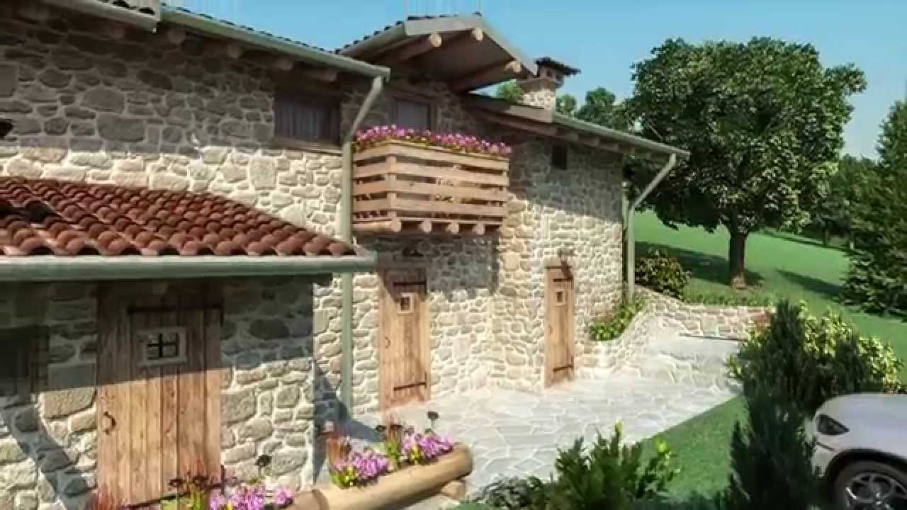 Restauro cascina di montagna youtube for Ville ristrutturate