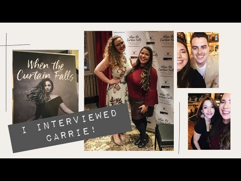 Carrie Hope Fletcher 'When The Curtain Falls' Album Launch + Interview