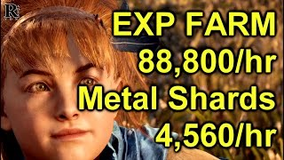 Horizon Zero Dawn Fast Metal Shards and Exp Farm Guide (Early Game)