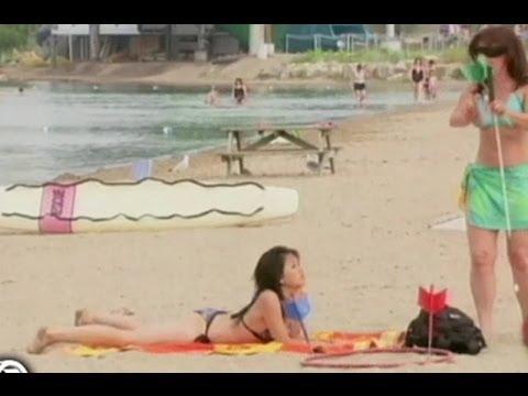 bromas sexis en la playa