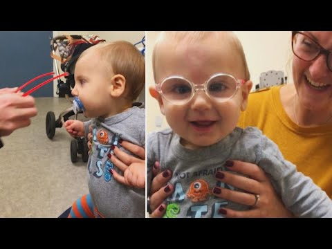 Lance Houston - Baby Boy Is Overjoyed After Surgery Helps Him See for the First Time