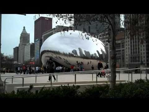 HD Tour of Chicago - Cloud Gate (The Bean)