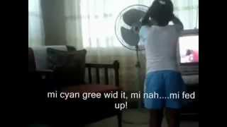 jamaican girl argues with aunty with full subtitles
