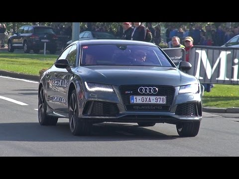 Supercars Accelerating! Audi RS7, Porsche 918, Aventador, Huracan, GT3, RS6, C63