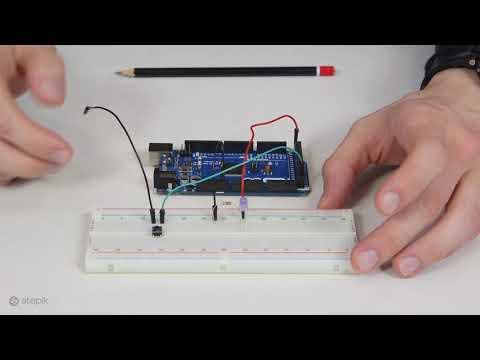 Подключаем кнопку к AVR-микроконтроллеру