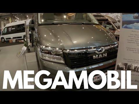 Mega Mobil Re Active 680 - MAN TGE - CMT Stuttgart 2020