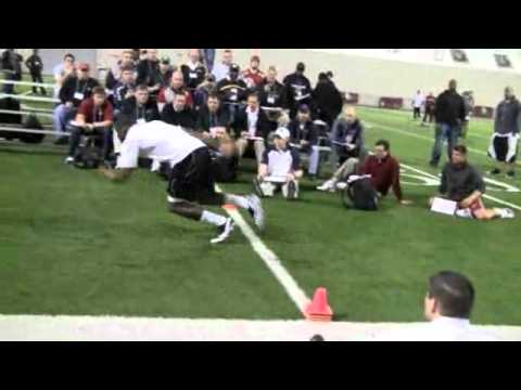 DeMarco Murray at 2011 OU Pro Day