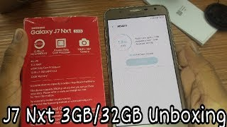 Galaxy J7 Nxt 3GB 32GB Unboxing