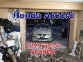 Снова загоняем Хонда Аккорд cl9 распил на разбор. Серебристый красавец Type-S