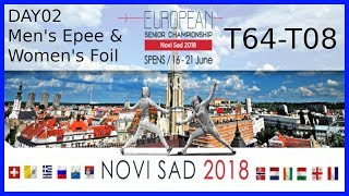 European Championships 2018 Novi Sad Day02 - Piste Blue