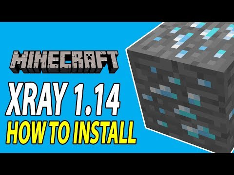Minecraft How To Install XRAY 1.14 (Mod & Texture Pack Versions) Tutorial