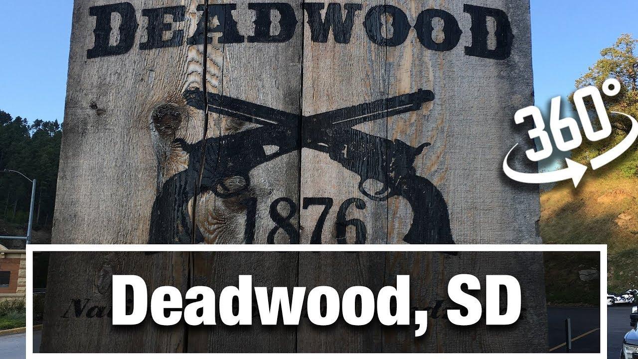 City Walks:  Deadwood, South Dakota Treadmill 360 Virtual Walking Tour