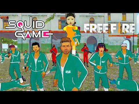 SQUID GAME in FREE FIRE ANIMATION ⭕🎬 لعبة الحبار في فري فاير