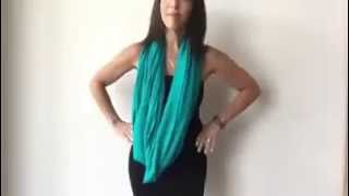 Как носить шарф снуд(, 2015-10-15T07:04:02.000Z)
