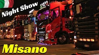 Misano 2018 Camion Decorati by Night / Custom Trucks Night Show - Weekend del Camionista - Part 2