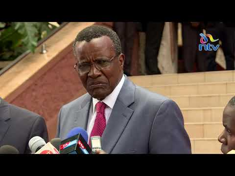 CJ David Maraga takes on Fred Matiang'i over attack on judges - Full statement