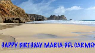 MariadelCarmen   Beaches Playas - Happy Birthday