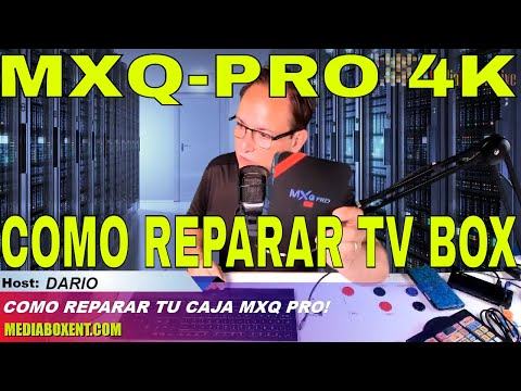 Como reparar la caja MXQ PRO 4k Firmware - Full download