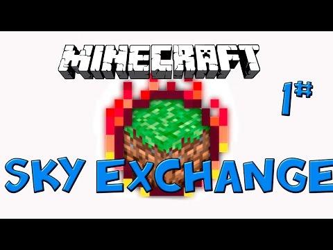 Sky Exchange PT-BR  - Minecraft 1.10.2 - Skyblock modded