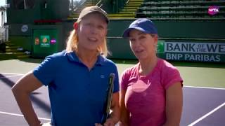 Love & Love Charity Match with Martina Navratilova and Chrissie Evert