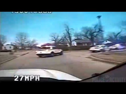 Dashcam Video Shows Chase With Tulsa Shooting Suspect