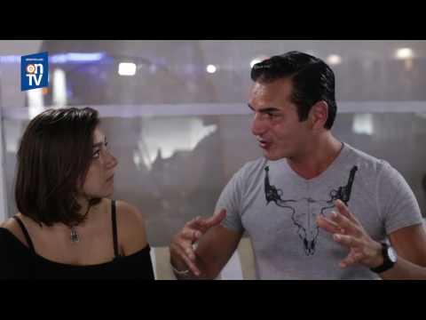 LA PISCINE Interview by On TV DJ David Vendetta