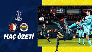 MAÇ ÖZETİ: Feyenoord 0-1 Fenerbahçe (2016-17 UEFA Avrupa Ligi)