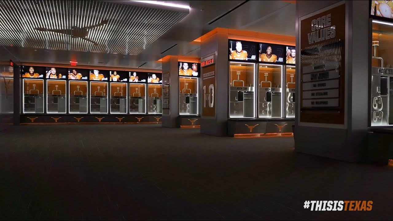Texas New Locker Rooms