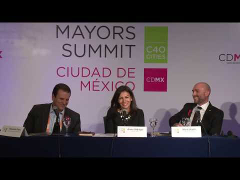 C40 Mayors Summit Press Conference: Deadline 2020 Report