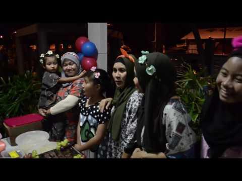 LYNA SENAMTARI trip Port Dickson Sri Pena bbq fun @birthday retreat