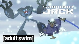 Jack versus the Yeti | Samurai Jack | Adult Swim
