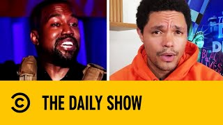 Kanye Criticises Harriet Tubman And Abortion In Campaign Speech I The Daily Show With Trevor Noah