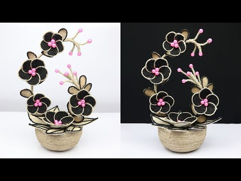 How to make a beautiful Showpiece for home decoration | Showpiece making at home