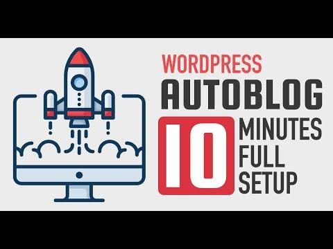 Create WordPress Autoblog in 10 Minutes – Urdu-Hindi Tutorial