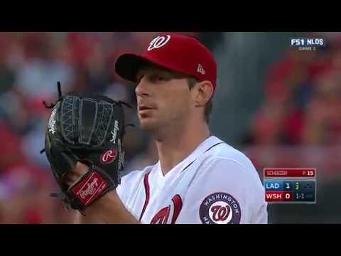 October 07, 2016-Los Angeles Dodgers vs. Washington Nationals {NLDS G1}