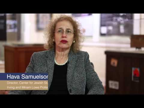 Jewish Refugees Exhibit Video