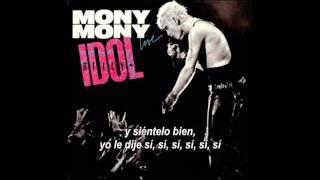 Billy Idol - Mony mony (Subtítulos español)