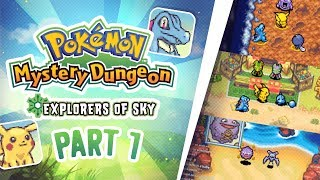 Pokemon Mystery Dungeon Explorers of Sky Playthrough part 1