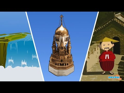 11 Amazing Places Around The World  Fun Facts for Kids  Educational s  Mocomi