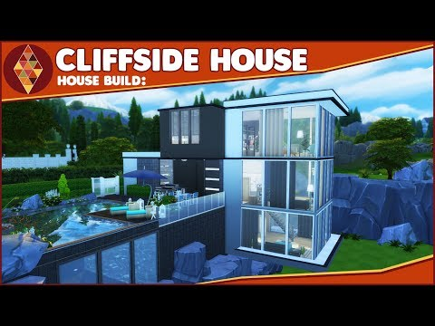 The Sims 4 - House Build - Cliffside House | HD