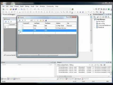 How To Connect Database In Visual Basic