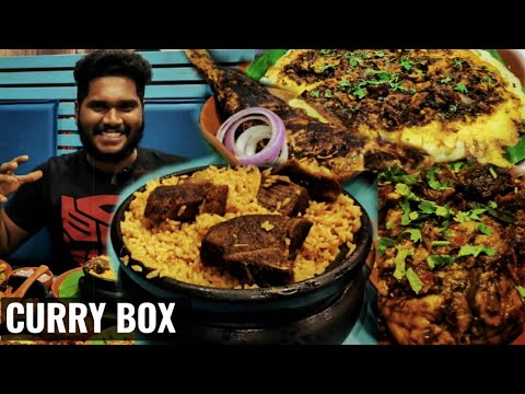 Ayira meen kulambu nandu omelette | Curry box | varieties of south indian non veg