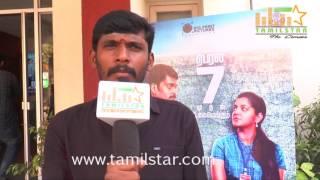 Sathish Kumar At 8 Thottakkal Movie Press Meet