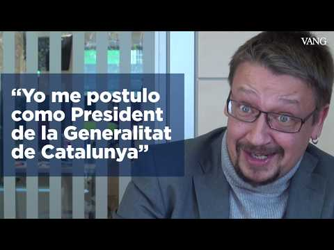 "Domènech: ""Yo me postulo como President de la Generalitat de Catalunya"""