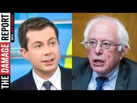 Buttigieg Throws Shade At Bernie Sanders