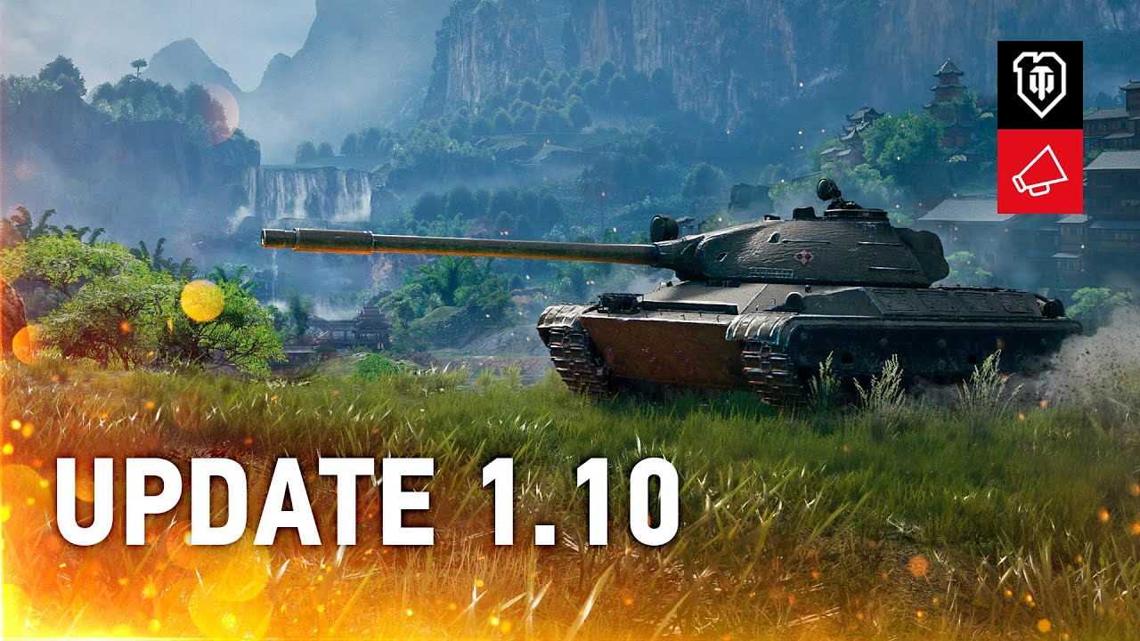 Update 1.10 Review: The Biggest One This Year [World of Tanks] thumbnail