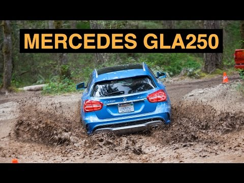 2015 Mercedes GLA250 4Matic - Off Road And Track Review