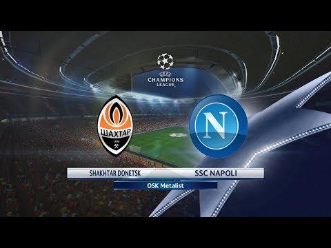 Shakhtar Donetsk vs Napoli | 13.09.2017 | UEFA Champions league 2017/2018