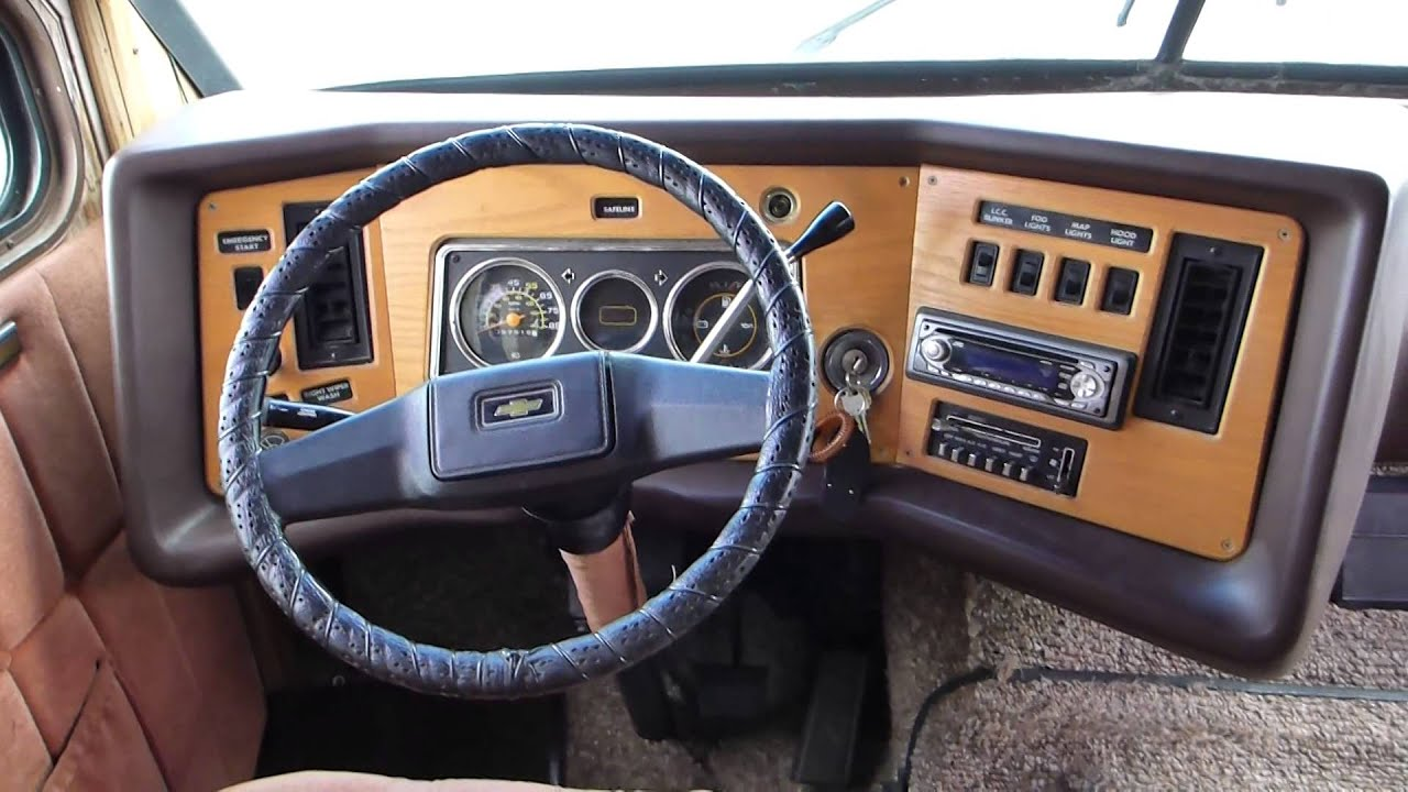 1984 Chevrolet Titan P30 Youtube
